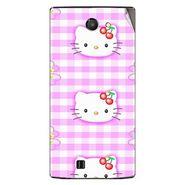 Snooky 41662 Digital Print Mobile Skin Sticker For Lava Iris 456 - Pink