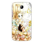 Snooky 41994 Digital Print Mobile Skin Sticker For Intex Aqua i5 - White