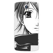 Snooky 42010 Digital Print Mobile Skin Sticker For Intex Aqua i6 - Grey