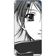 Snooky 42340 Digital Print Mobile Skin Sticker For Intex Aqua Star 2 - Grey