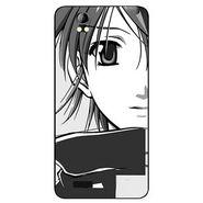 Snooky 42395 Digital Print Mobile Skin Sticker For Intex Aqua Style Pro - Grey