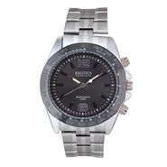 Exotica Fashions Analog Round Dial Watches_E02st34 - Black