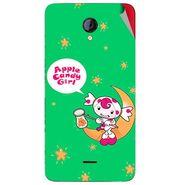 Snooky 46424 Digital Print Mobile Skin Sticker For Micromax Unite 2 A106 - Green