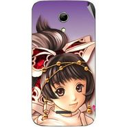 Snooky 46550 Digital Print Mobile Skin Sticker For Micromax Canvas 2.2 A114 - Multicolour