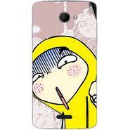 Snooky 46673 Digital Print Mobile Skin Sticker For Micromax Canvas Elanza 2 A121 - Multicolour