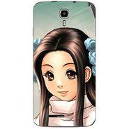 Snooky 46679 Digital Print Mobile Skin Sticker For Micromax Canvas Juice A177 - Multicolour