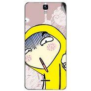 Snooky 46737 Digital Print Mobile Skin Sticker For Micromax Canvas HD Plus A190 - Multicolour