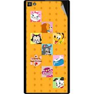 Snooky 47103 Digital Print Mobile Skin Sticker For Xolo Hive 8X-1000 - Yellow