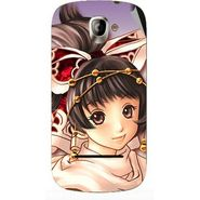 Snooky 47125 Digital Print Mobile Skin Sticker For Xolo A500 - Multicolour