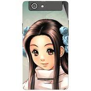 Snooky 47190 Digital Print Mobile Skin Sticker For Xolo A500s - Multicolour