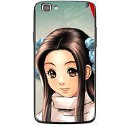 Snooky 47222 Digital Print Mobile Skin Sticker For Xolo A500s Lite - Multicolour