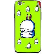 Snooky 47229 Digital Print Mobile Skin Sticker For Xolo A500s Lite - Green