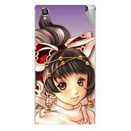 Snooky 47285 Digital Print Mobile Skin Sticker For Xolo A550S IPS - Multicolour