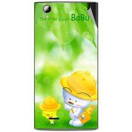 Snooky 47321 Digital Print Mobile Skin Sticker For Xolo A600 - Green