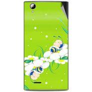 Snooky 47322 Digital Print Mobile Skin Sticker For Xolo A600 - Green