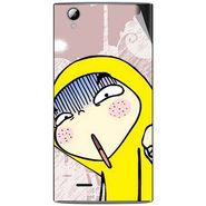 Snooky 47344 Digital Print Mobile Skin Sticker For Xolo A600 - Multicolour