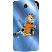 Snooky 47419 Digital Print Mobile Skin Sticker For Xolo Omega 5.0 - Blue