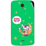 Snooky 47447 Digital Print Mobile Skin Sticker For Xolo Omega 5.5 - Green