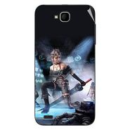 Snooky 47676 Digital Print Mobile Skin Sticker For Xolo Q800 - Blue