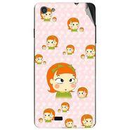 Snooky 47762 Digital Print Mobile Skin Sticker For Xolo Q900S - Orange