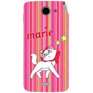 Snooky 47776 Digital Print Mobile Skin Sticker For Xolo Q1000 - Pink