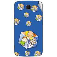 Snooky 47823 Digital Print Mobile Skin Sticker For Xolo Q1000 Opus - Blue