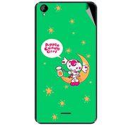 Snooky 47927 Digital Print Mobile Skin Sticker For Xolo Q2000L - Green