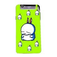 Snooky 47965 Digital Print Mobile Skin Sticker For Xolo Q3000 - Green