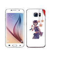 Snooky 48235 Digital Print Mobile Skin Sticker For Samsung Galaxy S6 - White