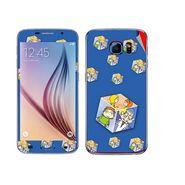 Snooky 48238 Digital Print Mobile Skin Sticker For Samsung Galaxy S6 - Blue