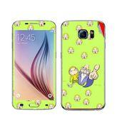 Snooky 48240 Digital Print Mobile Skin Sticker For Samsung Galaxy S6 - Green