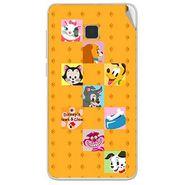 Snooky 48414 Digital Print Mobile Skin Sticker For Lava Iris 406Q - Yellow