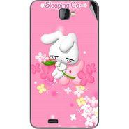 Snooky 48471 Digital Print Mobile Skin Sticker For Lava Iris 502 - Pink