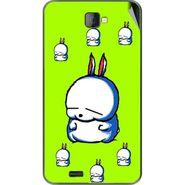 Snooky 48476 Digital Print Mobile Skin Sticker For Lava Iris 502 - Green