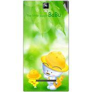 Snooky 48536 Digital Print Mobile Skin Sticker For Lava Iris 504Q Plus - Green