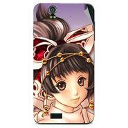 Snooky 48596 Digital Print Mobile Skin Sticker For Lava Iris selfie 50 - Multicolour