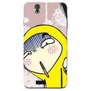 Snooky 48623 Digital Print Mobile Skin Sticker For Lava Iris selfie 50 - Multicolour