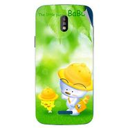 Snooky 48664 Digital Print Mobile Skin Sticker For Lava Iris 450 - Green