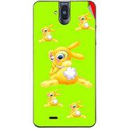 Snooky 48705 Digital Print Mobile Skin Sticker For Lava Iris 550Q - Green