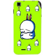 Snooky 48732 Digital Print Mobile Skin Sticker For Lava Iris 405 Plus - Green