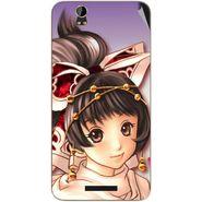 Snooky 48852 Digital Print Mobile Skin Sticker For Lava Iris X1 Grand - Multicolour