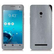 Snooky 20507 Mobile Skin Sticker For Asus Zenfone 5 - silver