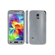 Snooky 20663 Mobile Skin Sticker For Samsung Galaxy S5 - silver