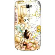 Snooky 42478 Digital Print Mobile Skin Sticker For Micromax Canvas Engage A091 - White