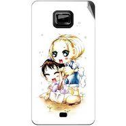 Snooky 42497 Digital Print Mobile Skin Sticker For Micromax Ninja A91 - White