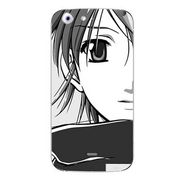 Snooky 42714 Digital Print Mobile Skin Sticker For Micromax Canvas 4 A210 - Grey