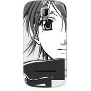 Snooky 42846 Digital Print Mobile Skin Sticker For XOLO A500 - Grey