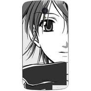 Snooky 42945 Digital Print Mobile Skin Sticker For Xolo Omega 5.0 - Grey