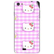 Snooky 43053 Digital Print Mobile Skin Sticker For Xolo Q900s - Pink