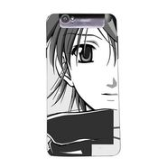 Snooky 43132 Digital Print Mobile Skin Sticker For Xolo Q3000 - Grey